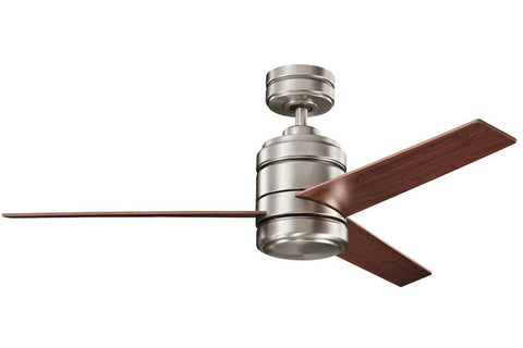 "Kichler 300146AP-37027OBB 58"" Arkwright Ceiling Fan in Antique Pewter"