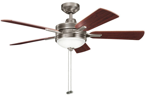 Kichler - 300148AP - 52``Ceiling Fan - Logan - Antique Pewter