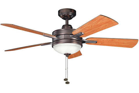 Kichler - 300148OBB - 52``Ceiling Fan - Logan - Oil Brushed Bronze