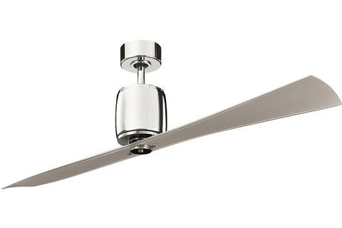"Kichler - 300160PN - 60"" Ceiling Fan - Ferron - Polished Nickel"