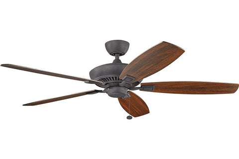 Kichler - 300188DBK - 60``Ceiling Fan - Canfield - Distressed Black