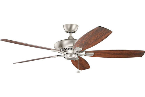 Kichler - 300188NI - 60``Ceiling Fan - Canfield - Brushed Nickel