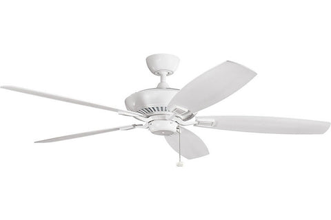 Kichler - 300188WH - 60``Ceiling Fan - Canfield - White