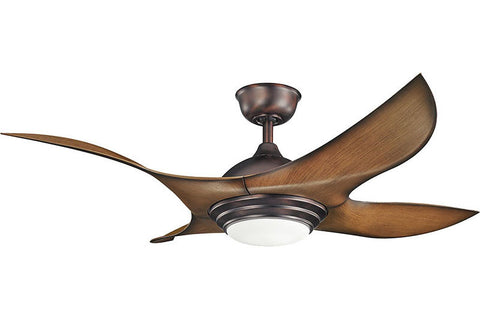 Kichler - 300209OBB - 52``Ceiling Fan - Shuriken - Oil Brushed Bronze