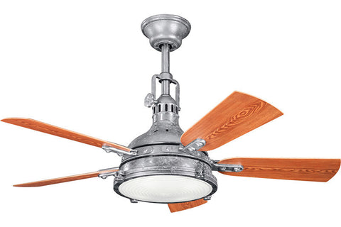 Kichler - 310101GST - 44``Ceiling Fan - Hatteras Bay Patio - Galvanized Steel