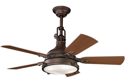Kichler - 310101TZP - 44``Ceiling Fan - Hatteras Bay Patio - Tannery Bronze Powder Coat