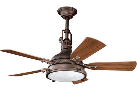 Kichler - 310101WCP - 44``Ceiling Fan - Hatteras Bay Patio - Weathered Copper Powder Coat