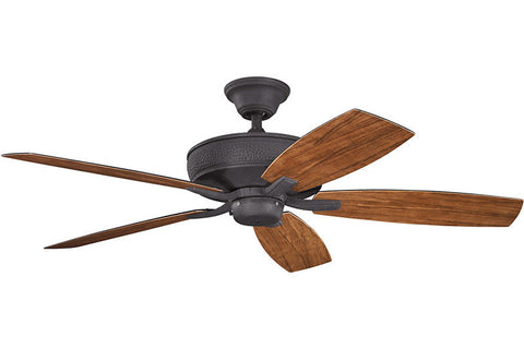 Kichler - 310103DBK - 52``Ceiling Fan - Monarch II Patio - Distressed Black