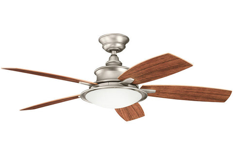 Kichler - 310104NI - 52``Ceiling Fan - Cameron - Brushed Nickel