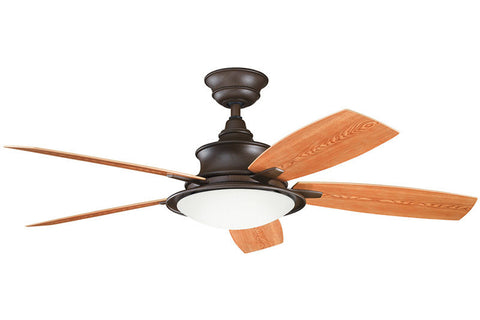 Kichler - 310104TZP - 52``Ceiling Fan - Cameron - Tannery Bronze Powder Coat