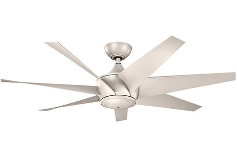 Kichler - 310112ANS - 54``Ceiling Fan - Lehr II - Antique Satin Silver