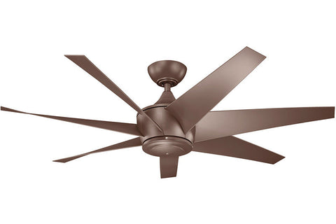 Kichler - 310112CMO - 54``Ceiling Fan - Lehr II - Coffee Mocha
