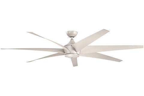 Kichler - 310115ANS - 80``Ceiling Fan - Lehr - Antique Satin Silver