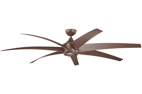 Kichler - 310115CMO - 80``Ceiling Fan - Lehr - Coffee Mocha
