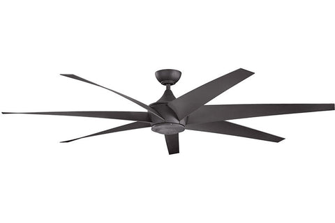 Kichler - 310115DBK - 80``Ceiling Fan - Lehr - Distressed Black
