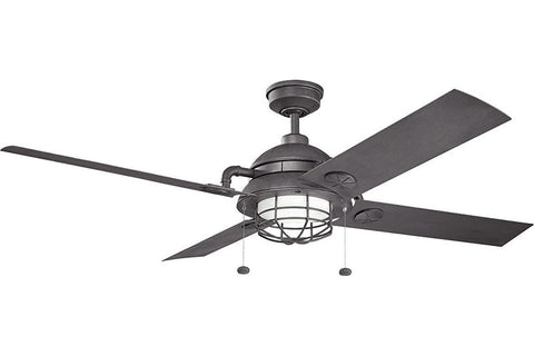Kichler - 310136DBK - 65``Ceiling Fan - Maor - Distressed Black