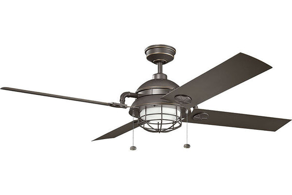 Kichler - 310136OZ - 65``Ceiling Fan - Maor - Olde Bronze