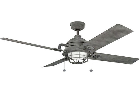 Kichler - 310136WZC - 65``Ceiling Fan - Maor - Weathered Zinc