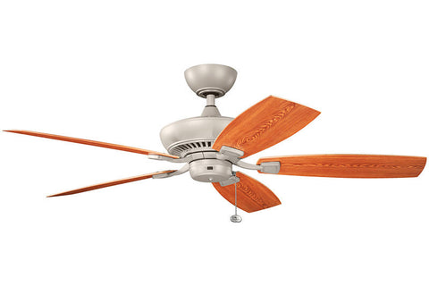 Kichler - 320500ANS - Fan Motor - Climates - Antique Satin Silver