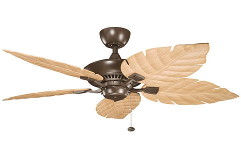 "Kichler 320500CMO-370021 52"" Canfield Climates Ceiling Fan in Coffee Mocha"