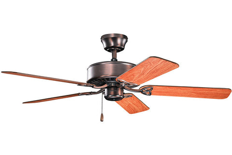 Kichler - 330100OBB - 50``Ceiling Fan - Renew ES - Oil Brushed Bronze