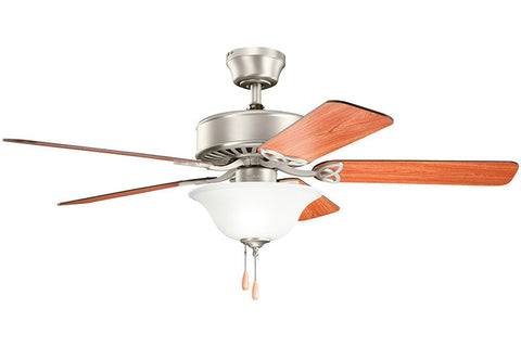 Kichler - 330103NI - 50``Ceiling Fan - Renew Select ES - Brushed Nickel