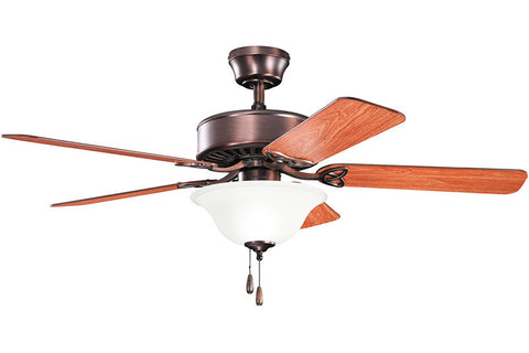 "Kichler - 330103OBB - 50"" Ceiling Fan - Renew Select ES - Oil Brushed Bronze"