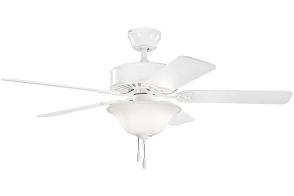 Kichler - 330103WH - 50``Ceiling Fan - Renew Select ES - White