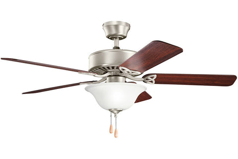 Kichler - 330110NI - 50``Ceiling Fan - Renew Select - Brushed Nickel
