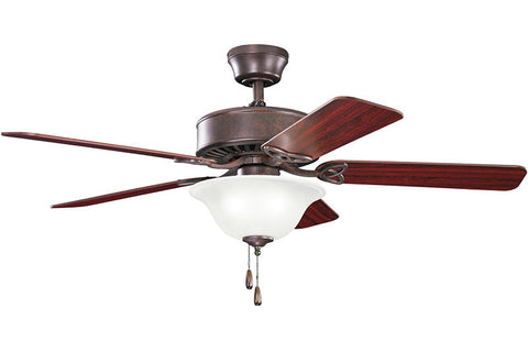 Kichler - 330110TZ - 50``Ceiling Fan - Renew Select - Tannery Bronze