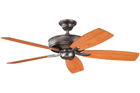 Kichler - 339013OBB - 52``Ceiling Fan - Monarch II - Oil Brushed Bronze