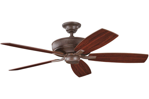 "Kichler 339013TZ 52"" Monarch II Fan in Tannery Bronze"