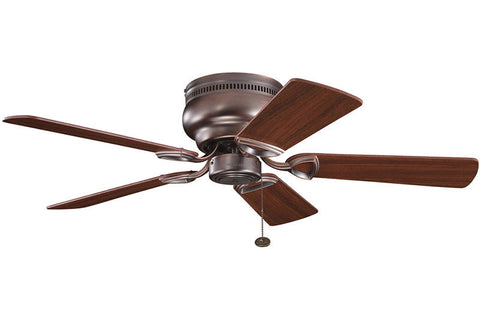 "Kichler 339017OBB 42"" Stratmoor Fan in Oil Brushed Bronze"