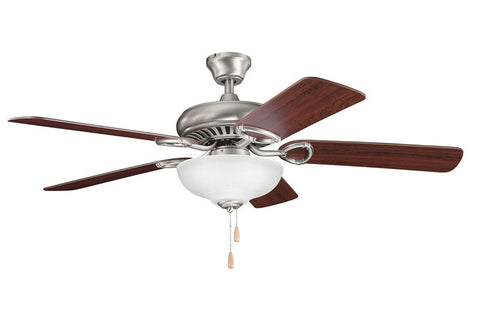 Kichler - 339211AP - 52``Ceiling Fan - Sutter Place Select - Antique Pewter