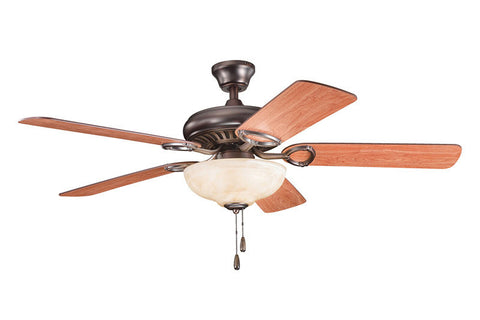 Kichler - 339211OBB - 52``Ceiling Fan - Sutter Place Select - Oil Brushed Bronze