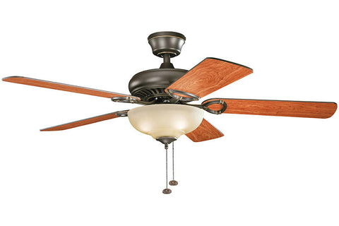 Kichler - 339211OZ - 52``Ceiling Fan - Sutter Place Select - Olde Bronze