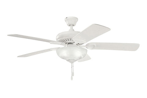 Kichler - 339211SNW - 52``Ceiling Fan - Sutter Place Select - Satin Natural White