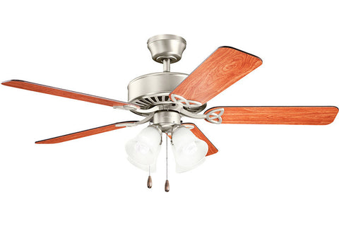 Kichler - 339240NI - 50``Ceiling Fan - Renew Premier - Brushed Nickel