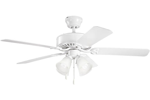 Kichler - 339240WH - 50``Ceiling Fan - Renew Premier - White