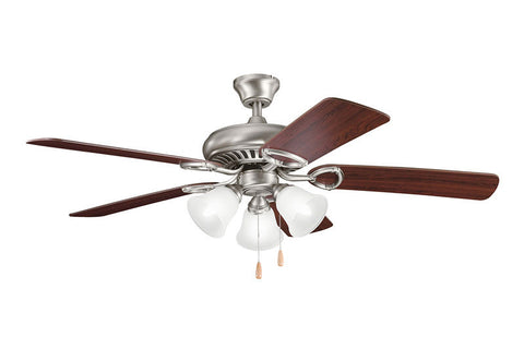 Kichler - 339400AP - 52``Ceiling Fan - Sutter Place Premier - Antique Pewter