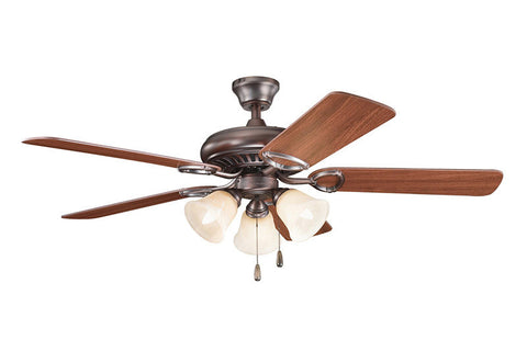Kichler - 339400OBB - 52``Ceiling Fan - Sutter Place Premier - Oil Brushed Bronze
