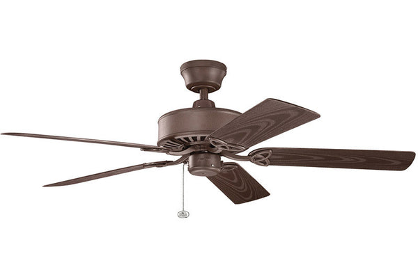 Kichler - 339515TZP - 52``Ceiling Fan - Renew Patio - Tannery Bronze Powder Coat