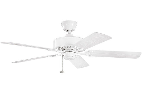 Kichler - 339515WH - 52``Ceiling Fan - Renew Patio - White