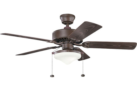Kichler - 339516TZP - 52``Ceiling Fan - Renew Select Patio - Tannery Bronze Powder Coat