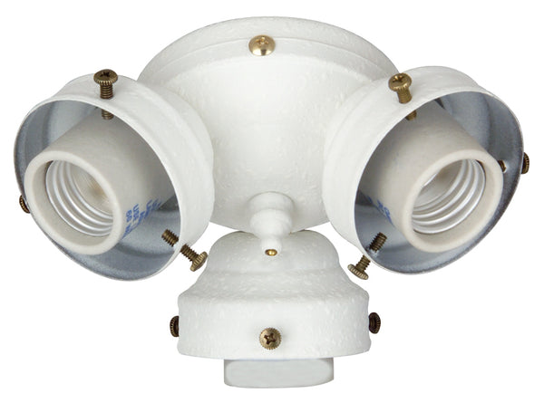 Craftmade - F300CFL-W - 3 Light Universal Fitter - Fitter - White