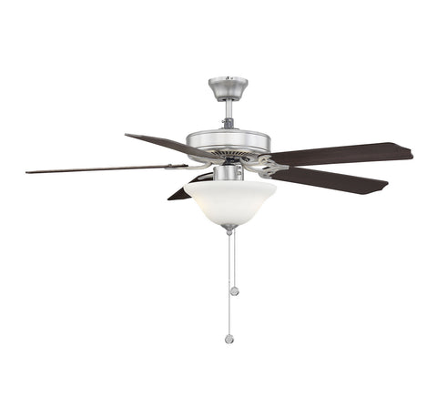 Savoy House - 52-ECM-5RV-SN - 52``Ceiling Fan - First Value