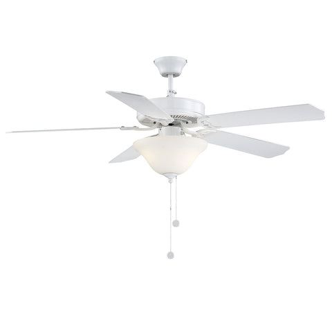 Savoy House - 52-ECM-5RV-WH - 52``Ceiling Fan - First Value