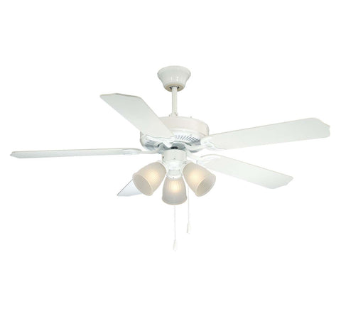 Savoy House - 52-EUP-5RV-WH - 52``Ceiling Fan - First Value