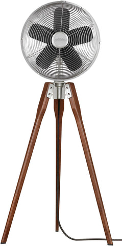 Fanimation - FP8014SN - Pedestal Fan - Arden - Satin Nickel