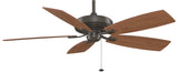"Fanimation - TF710OB - 60"" Ceiling Fan - Edgewood Deluxe - Oil-Rubbed Bronze"